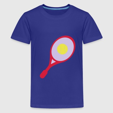 tennis racket - Teenager Premium T-shirt