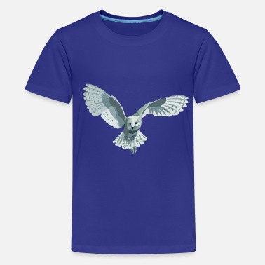 Owl barn owl - Teenage Premium T-Shirt