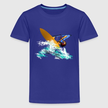 Windsurfing Windsurfing - Teenager Premium T-Shirt