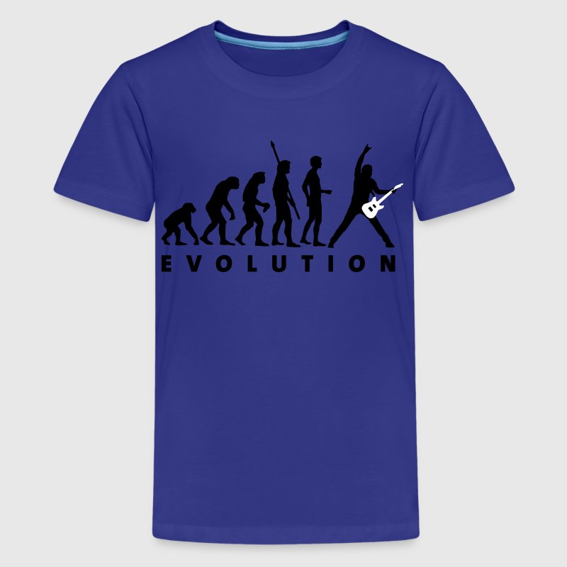 evolution_guitar_d_2c - Teenage Premium T-Shirt