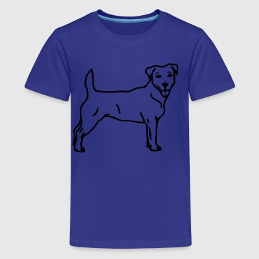 jackrussel - www.dog-power.nl - Teenager Premium T-Shirt