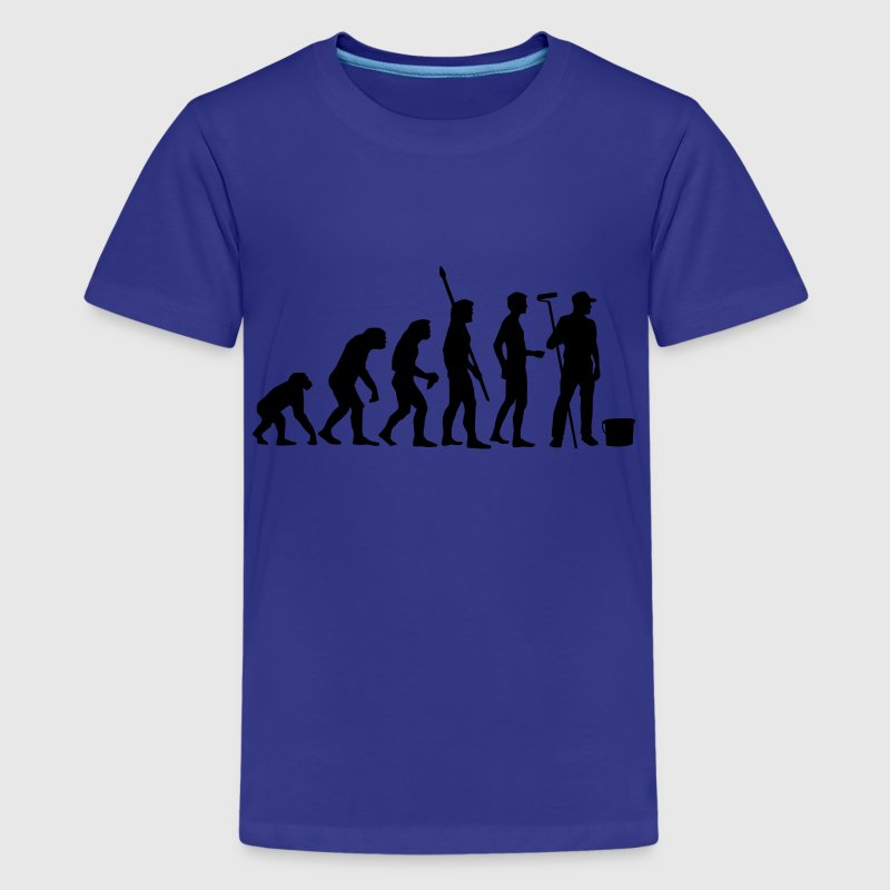 evolution_maler_b - Teenager premium T-shirt