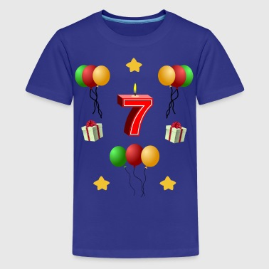 Birthday 7 years - Teenage Premium T-Shirt