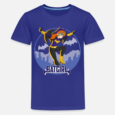 Batgirl DC Super Hero Girls Batgirl In Gotham - Premium-T-shirt tonåring
