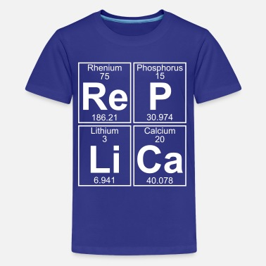 Replica Re-P-Li-Ca (replica) - Full - Teenage Premium T-Shirt