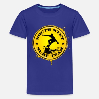 South West south west surf  team - Teenage Premium T-Shirt