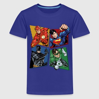 DC Comics Justice League Superhelden - Teenager Premium T-Shirt