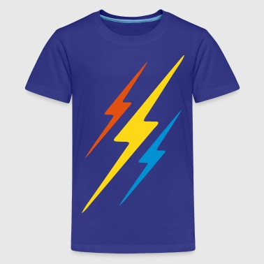lightning thunder - Teenage Premium T-Shirt