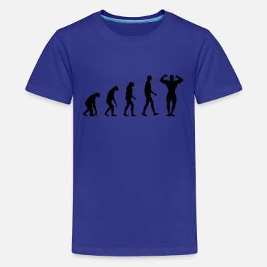 Evolution Evolution Fitness - Teenage Premium T-Shirt