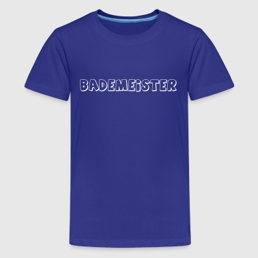 Schwimmbad Bademeister Schwimmbad - Teenager Premium T-Shirt