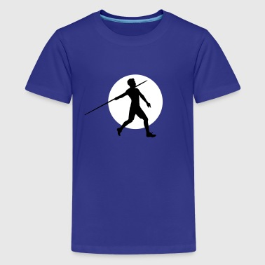 Javelin Throwing speerwerfer_2c - Teenage Premium T-Shirt