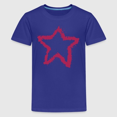 star, overspray of paint 4 - Teenage Premium T-Shirt