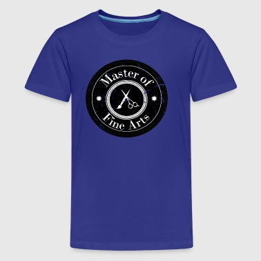 Master of Fine Arts - Teenager Premium T-Shirt