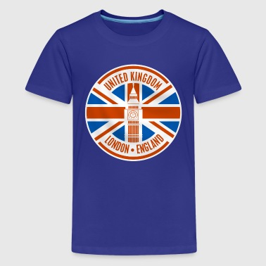 united kingdom - london - Teenage Premium T-Shirt