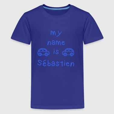 Sebastien SEBASTIEN MIJN NAAM IS - Teenager Premium T-shirt