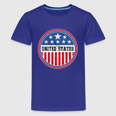 united states of america - Teenage Premium T-Shirt