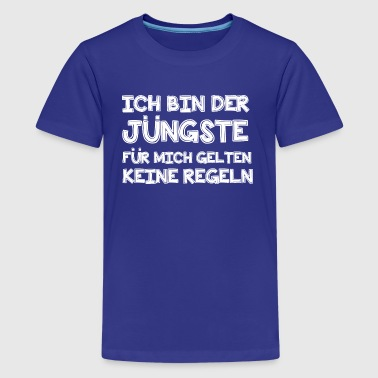 Ich bin der Jüngste - Teenager Premium T-Shirt