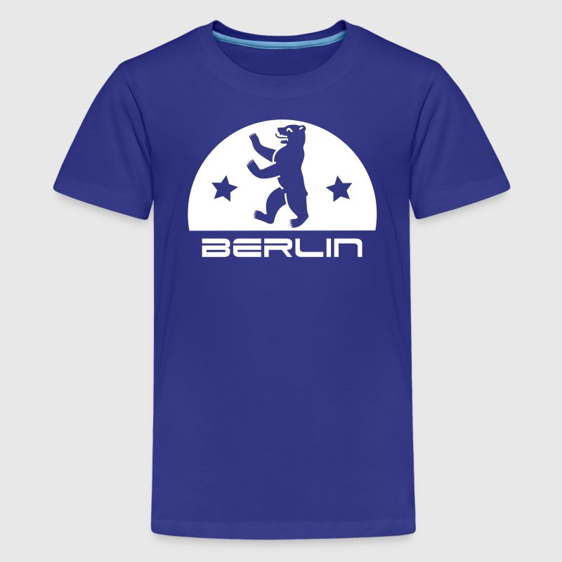 Berliner Bär Wappen - Teenager Premium T-Shirt
