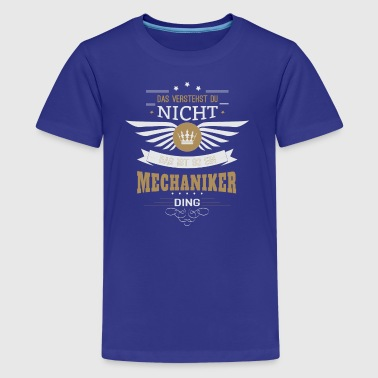 Mechanic car mechanic gift - Teenage Premium T-Shirt