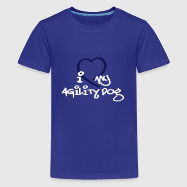 Agility dog - Teenager premium T-shirt