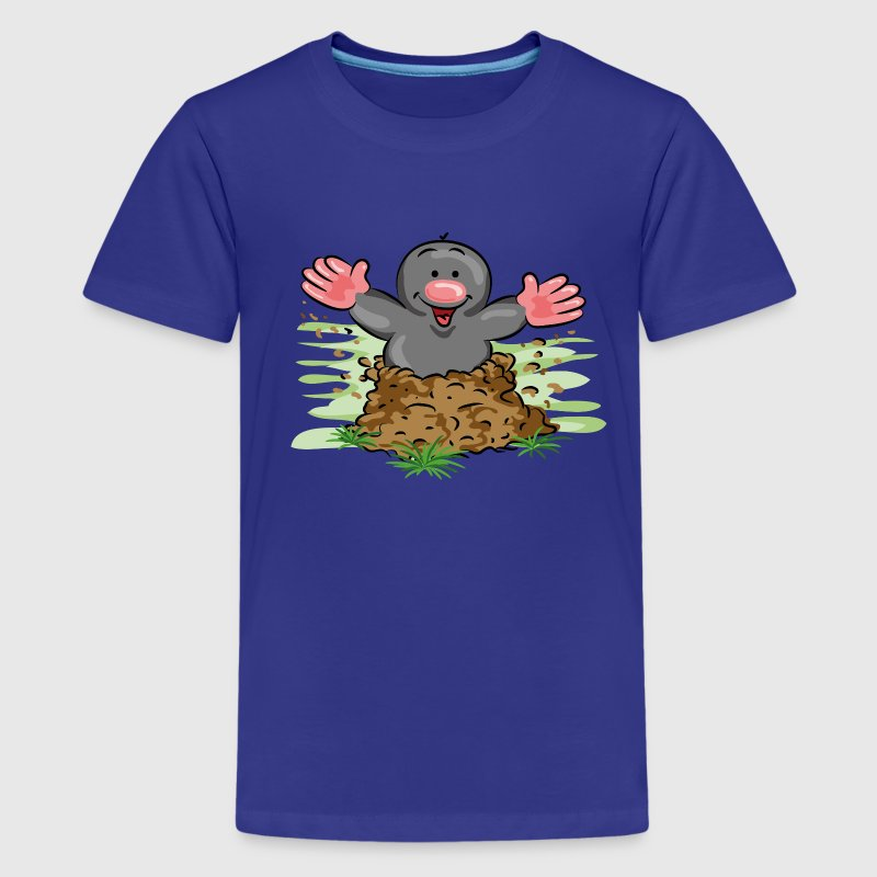 Happy Mole - Teenager Premium T-shirt