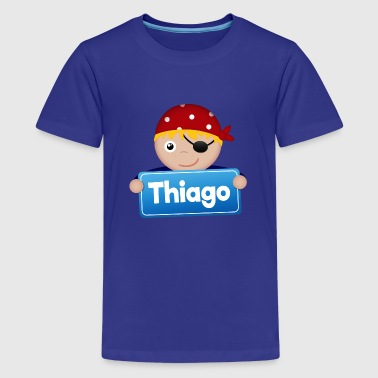 Kleiner Pirat Thiago - Teenager Premium T-Shirt