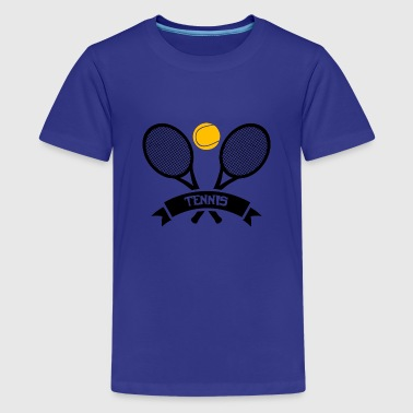 Tennis! - Teenager premium T-shirt