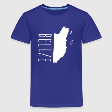 Belize Belize - Teenager Premium T-Shirt