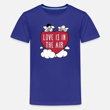 valentine - love is in the air 3c - Teenager Premium T-Shirt