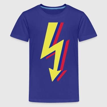 High Voltage, Lightning! - Teenage Premium T-Shirt