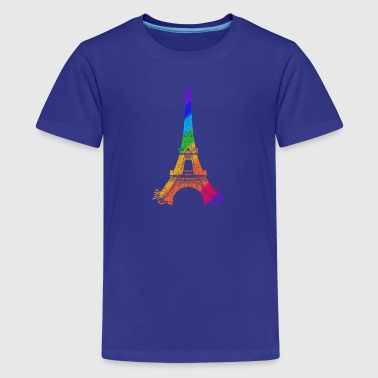 Eiffel tower - Teenage Premium T-Shirt