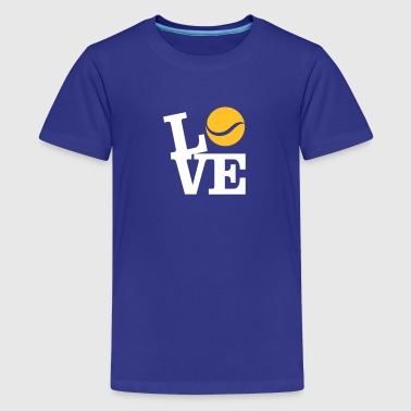 Love Tennis - Teenager Premium T-shirt