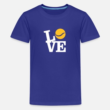 I Love Tennis Love Tennis - Teenager Premium T-shirt