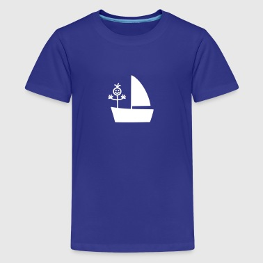 Boote Boot - Teenager Premium T-Shirt