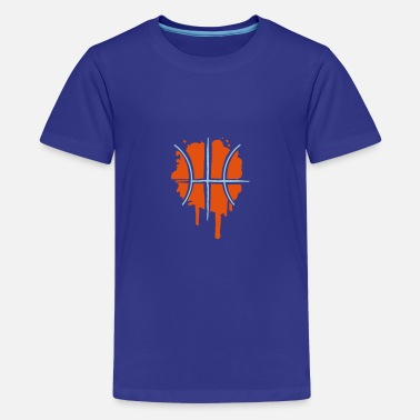Graffiti Basketball Basketball Graffiti - Teenage Premium T-Shirt