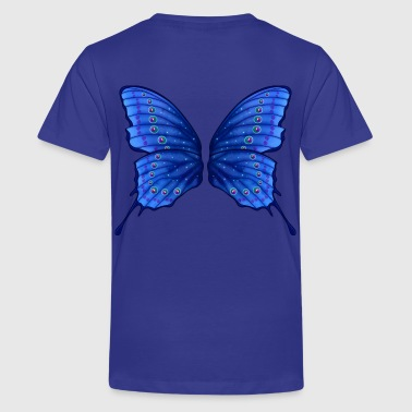 Butterfly Fairy Wings - Teenage Premium T-Shirt