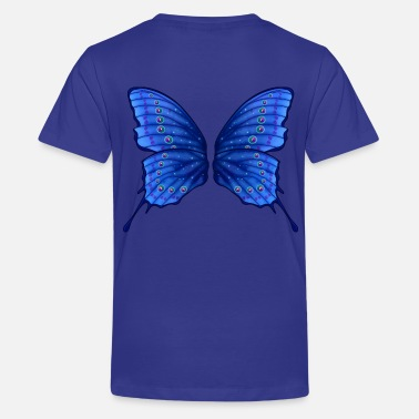 Butterfly Fairy Wings - Teenager Premium T-Shirt