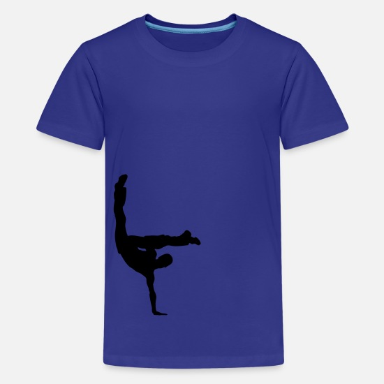 Breakdance T-Shirts - Breakdance Kinder T-Shirts - Teenager Premium T-Shirt Königsblau