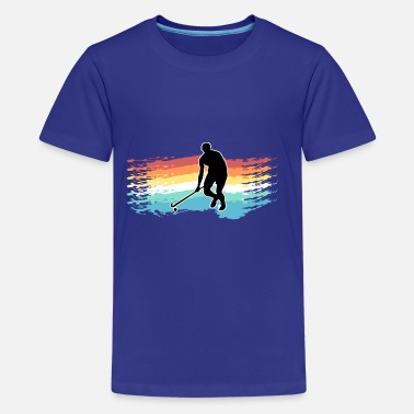 Field Hockey hockey - Teenage Premium T-Shirt