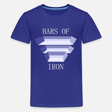 Bars of Iron - Eisenstangen - Teenager Premium T-Shirt