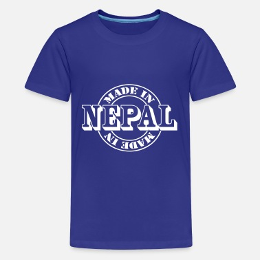 Nepal made in nepal m1k2 - Camiseta premium adolescente