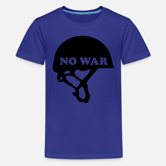 Army T-Shirts - No War - Teenage Premium T-Shirt royal blue