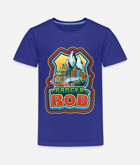 Parc D'attractions T-shirts - Ranger Rob Grand Parc Aventure - Teenager premium T-shirt koningsblauw