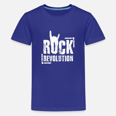 Rock Skirt Rock - Rock Star - Rock Revolution - Musica - Maglietta premium per teenager