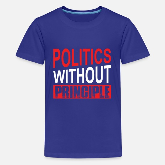 Politics T-Shirts - Politics Tshirt - Teenage Premium T-Shirt royal blue