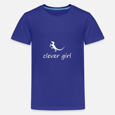 Clever Clever Girl - T-shirt premium Ado
