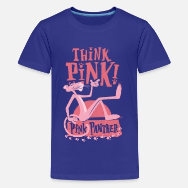 Pink Panther Think Pink - Teenager Premium T-Shirt