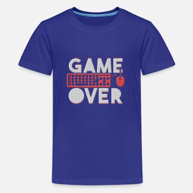 Game Over Game Over - Teenager Premium T-Shirt