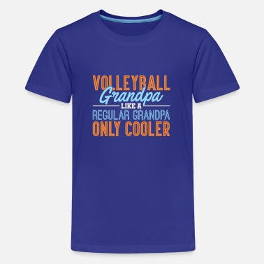 Like A Regular Grandpa Only Cooler - Grootvader - Teenager premium T-shirt