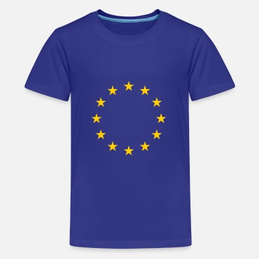 Europe Europe Stars Europe stars - Teenage Premium T-Shirt